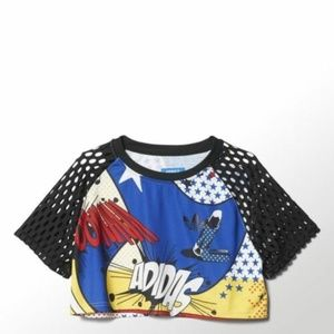 Adidas Originals Women's Rita Ora Super Crop Top